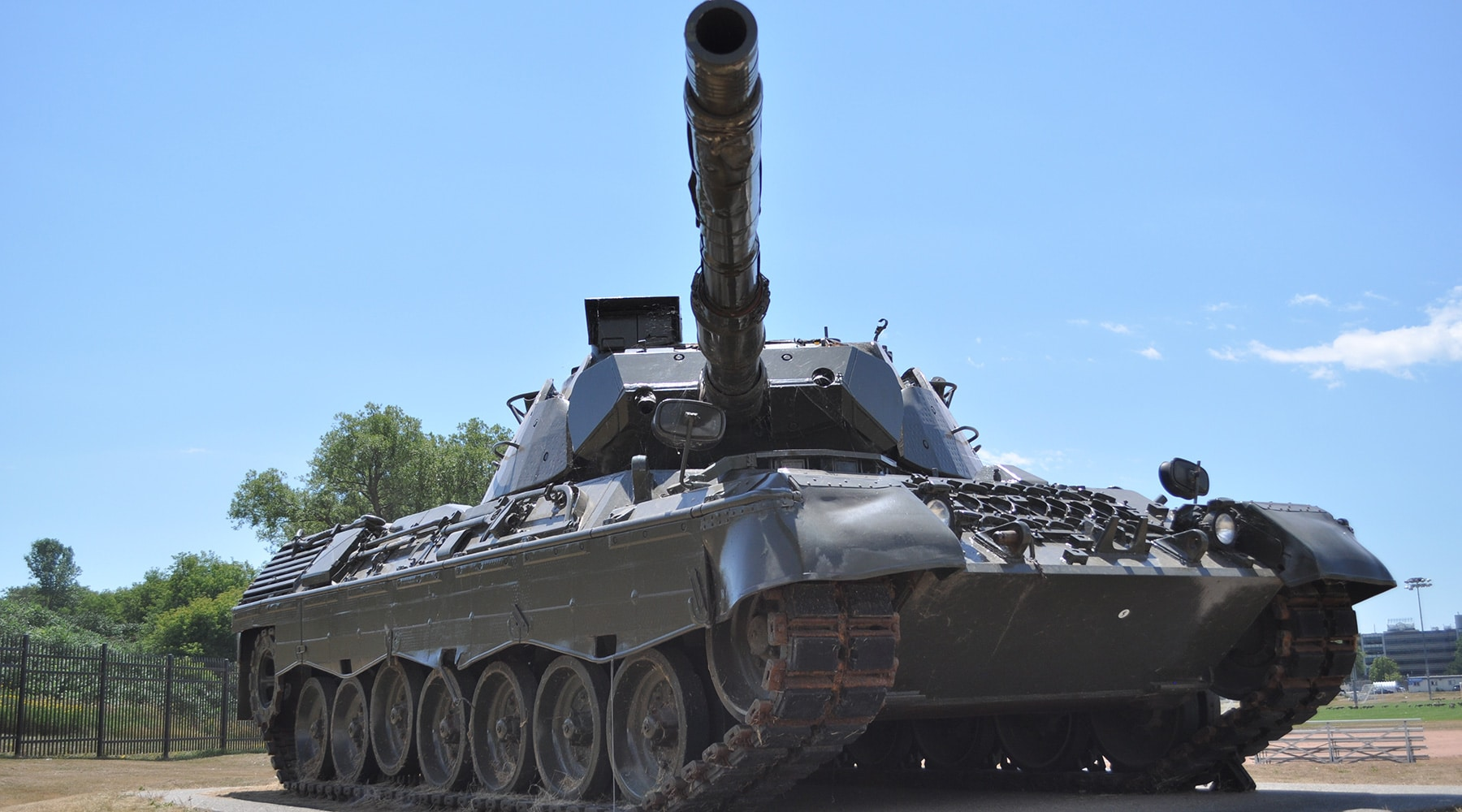 A military army tank.